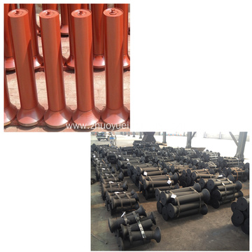 Belt Conveyor Self-aligning Friction Rollers