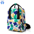 Leisure travel backpack dazzle colorful graffiti schoolbag