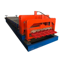 Glazed tile roof sheet forming machine
