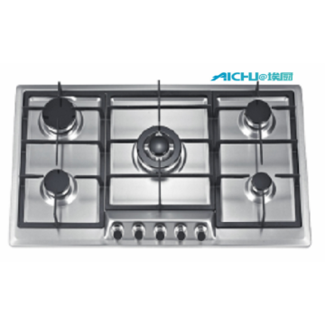 Sunflame Stainless Steel 5 Burners Built In Hobs
