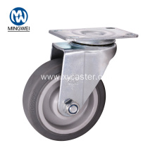 Swivel 4 Inch TPR Caster Roller for Furniture