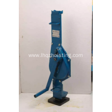 Hand mechanical manual screw jack 15ton
