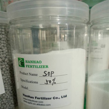 100% water soluble potassium sulphate fertilizer SOP