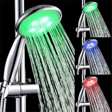 Plastic ABS LED Overhead Shower