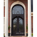 Luxury and Generous Iron Entrance Doors
