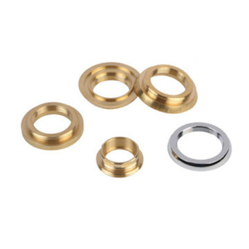 Brass faucet screw covers