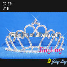 Crystal Hair Jewelry Rhinestone Tiaras