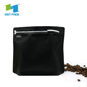 Laminated plastic material Coffee packaging Stand Up Bag