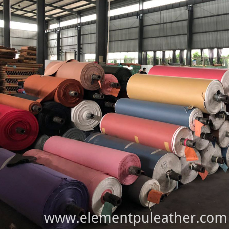 Woven Pu Synthetic Leather