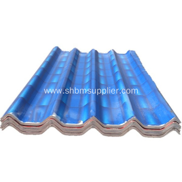 Fire Resistant Magnesium Oxide Gray Roofing Sheet
