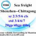 Shenzhen Global Freight Agent to Chittagong