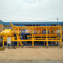 Customized for Small Mobile Concrete Plant 20 Wet Mobile Concrete Mixing Plants export to New Caledonia Factory