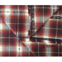 Top for Cotton Jacquard Yarn Dyed Fabric Classic Plaid 100% Cotton Flannel Fabric supply to Cyprus Manufacturers