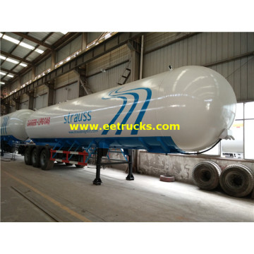 60m3 LPG Gas Transport Tank Semi-trailers
