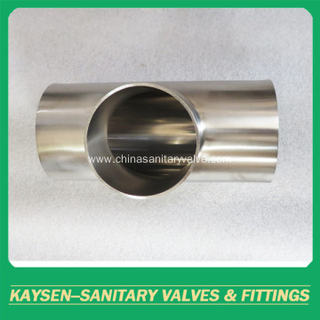 AS1528 Sanitary equal Tee welded