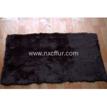 rex rabbit skin fur plate