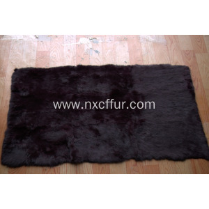 New Arrival for Sheepskin Fur Blanket rex rabbit skin fur plate export to Angola Manufacturers