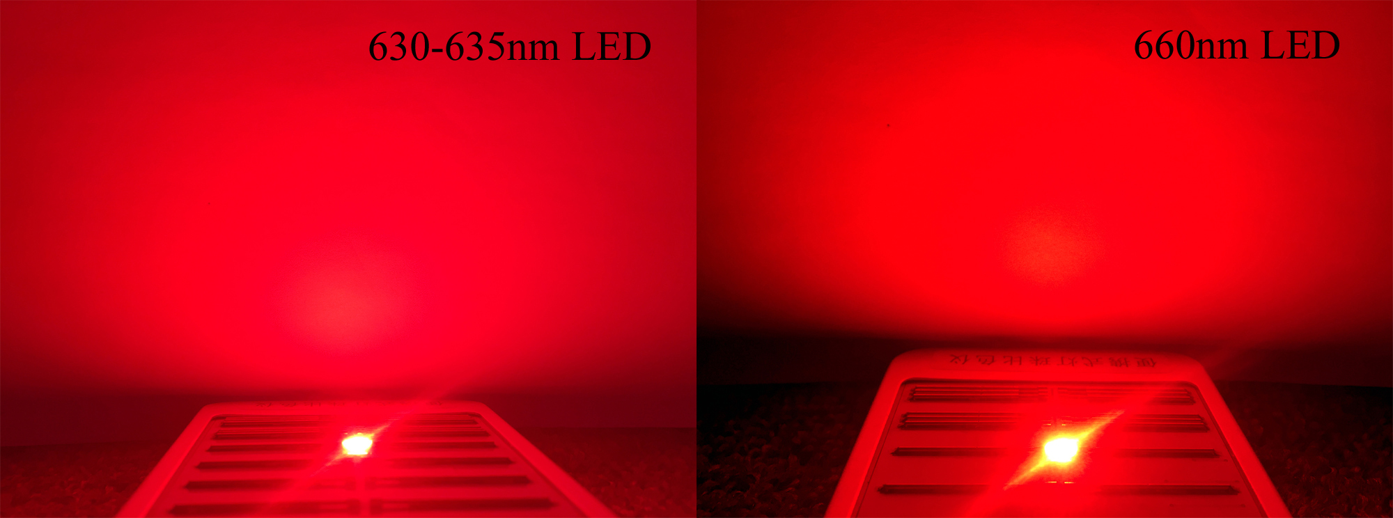 630nm VS 660nm LED