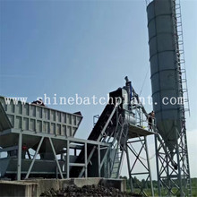 China for Mobile Mix Plant 40 Wet Ready Mixed Concrete Mobile Plants supply to Austria Factory