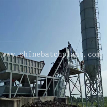 35 Portable Concrete Batching Plant