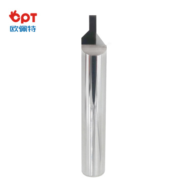 PCD engraving bit for maching mobile phone button