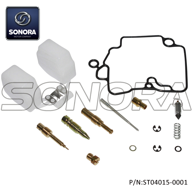 GY6 50 139QMA CARBURETOR  REPAIR  REBUILD KIT(P/N:ST04015-0001) Top Quality