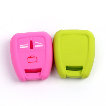 Silicone car key cover holder for Opel key