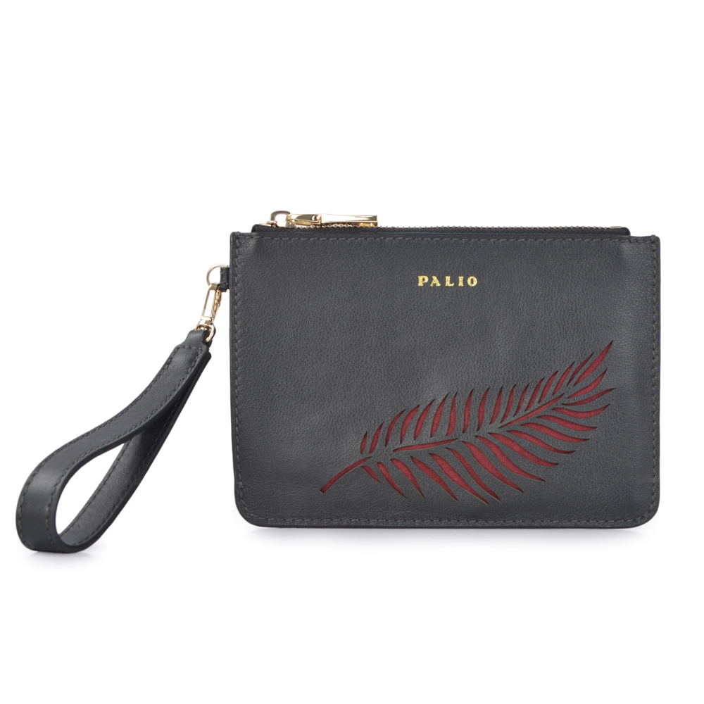 High quality Leather clutch purse holds an phone,cashes purse ,small cosmetics