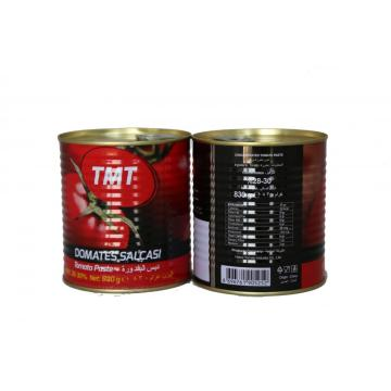 Canned Tomato Paste Factory Gino Tomatoes, Canned Food