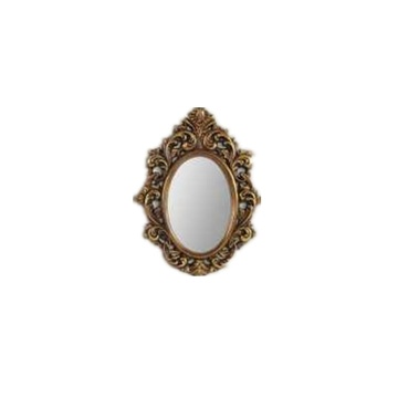 Retro Woodern Carving Frame Mirror