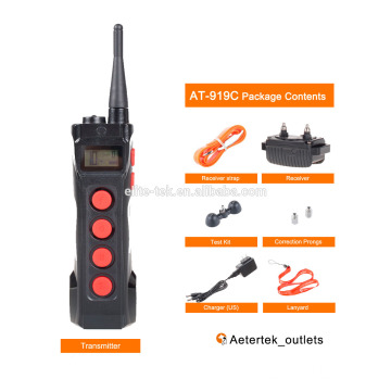 Aetertek AT-919C remote dog training collar