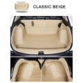 Custom Made Luxury Leather 5D Cargo Liners Trunk Mats