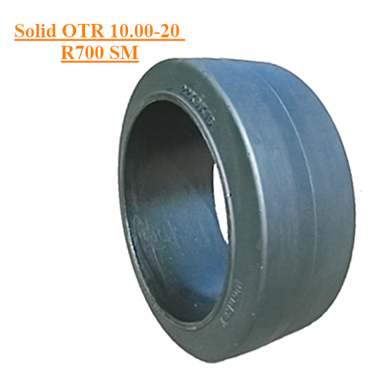 Off The Road Solid Tyre 10.00-20 R700 Smooth