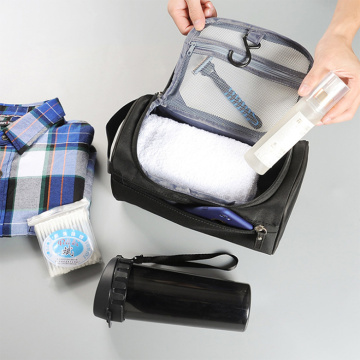 Hanging Travel Business Toiletry Bag with Handle