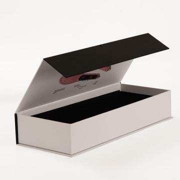 Custom White Matt Gift Book Shape Paper Box