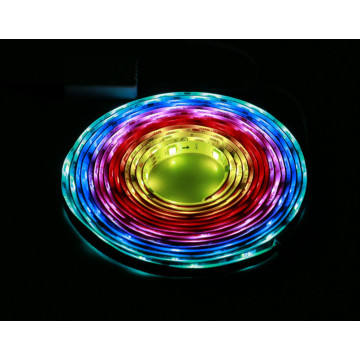 Shenzhen factory best price RGB flecxible led strip light 14.4w/m, 12v/24v DC