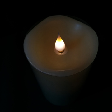Realistic 3D Flickering Light Moving Flame LED Candle