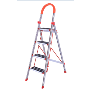 Non slip household 4 steps ladder