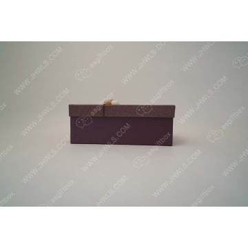 Upscale Custom Bowknot clothing packing box