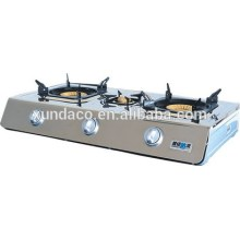SS 3 Burner Gas Cooker for Kitchen Usage