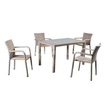 2019 best selling outdoor dining table&chairs set