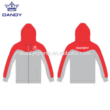 Wholesale PriceList for Gymnastics Hoodie custom sublimated mens zip up hoodies export to Martinique Exporter