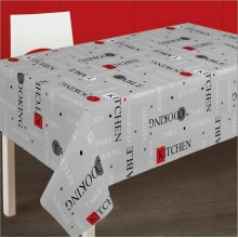 20 Years manufacturer for Pvc Printed Tablecloth Writing Style Printed Tablecloth With Backing supply to Armenia Manufacturers