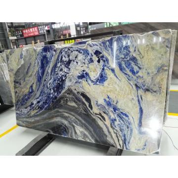 blue sodalite translucent panel