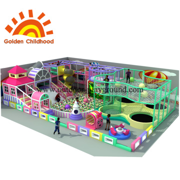 Colourful Indoor Playground Equipment For Children