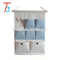 Hot sale 7 pockets fabric door hanging storage organizer