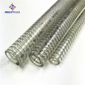 Pure extrude Steel Wire food grade PVC hose