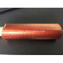Extruded High Copper Radiator Finned Tubes 10.5mm
