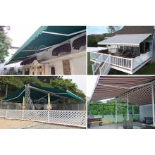High Quality for awning with full cassette/ awning with steel construction Roof Sun Shade awning supply to South Korea Supplier