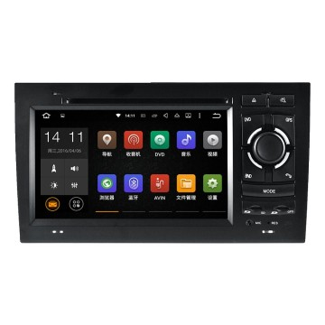 varejo auto gps dvd player para audi a4 / s4 / rs4